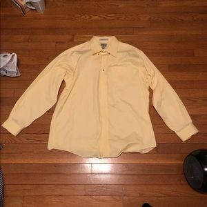 LL Bean Mens Dress Shirt L Wrinkle Resistant shirt
